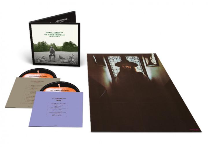 George Harrison All Things Must Pass CD Packshot
