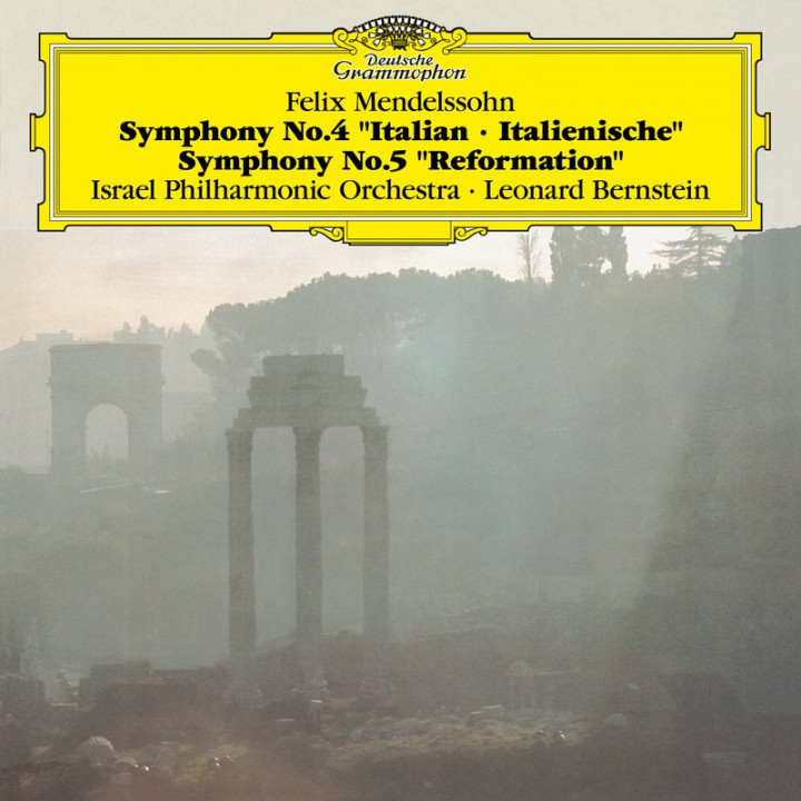 MENDELSSOHN Symphonies 4 & 5 / Bernstein