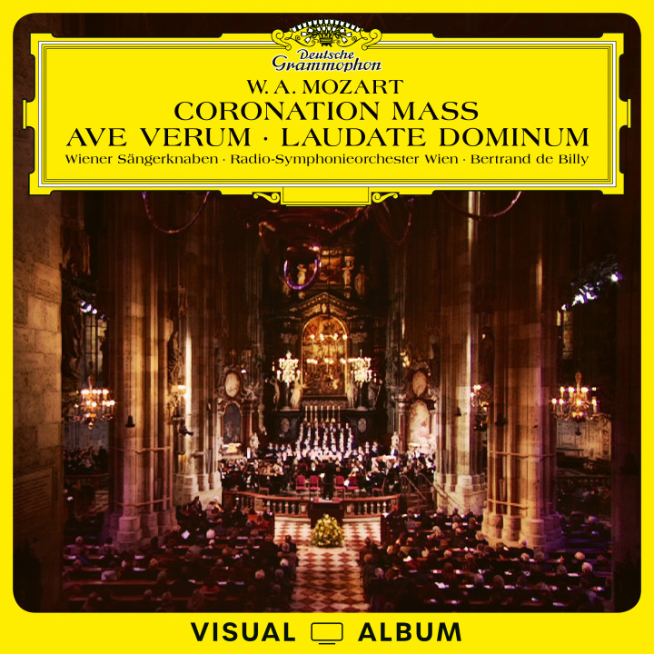 Bertrand de Billy - Mozart: Coronation Mass - Ave Verum - Laudate Dominum cover