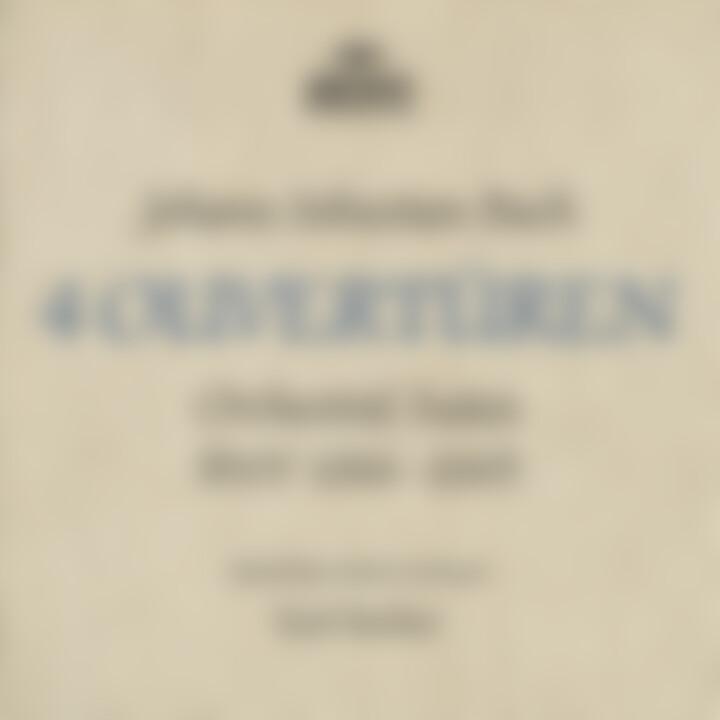 Karl Richter - Bach, J.S.: Orchestral Suites, BWV 1066-1069 cover
