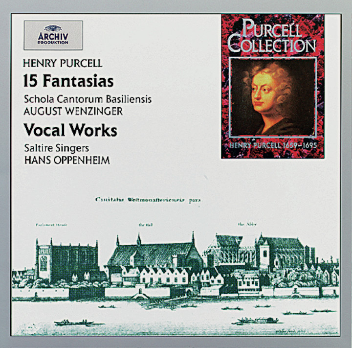 Oppenheim - Purcell: 15 Fantasias & Vocal Works Cover