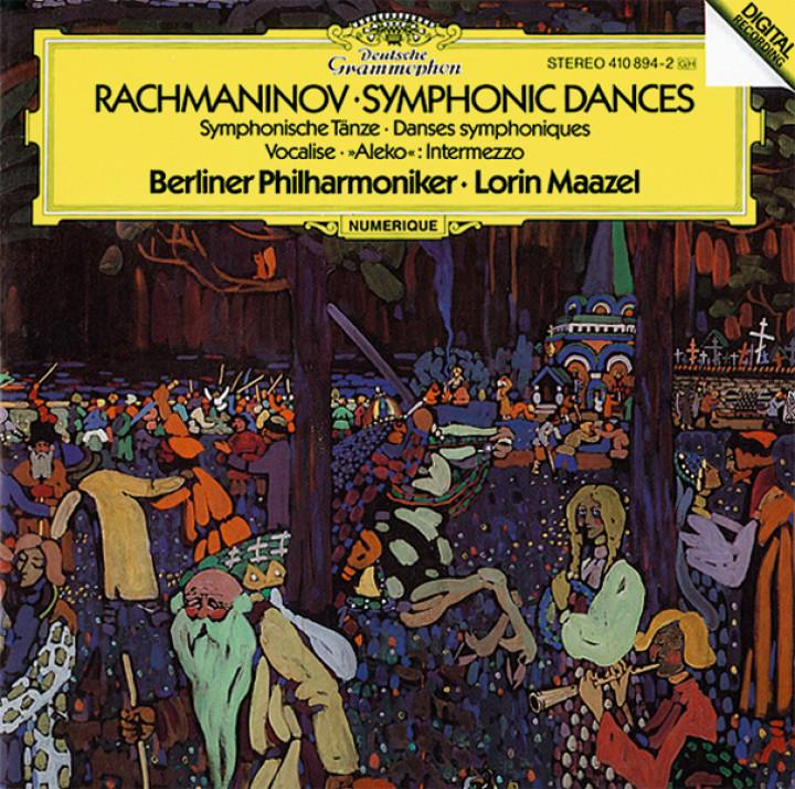 """Maazel - Rachmaninoff: Symphonic Dances, Op.45; Intermezzo """"Aleko""""; Vocalise, Op.34"""