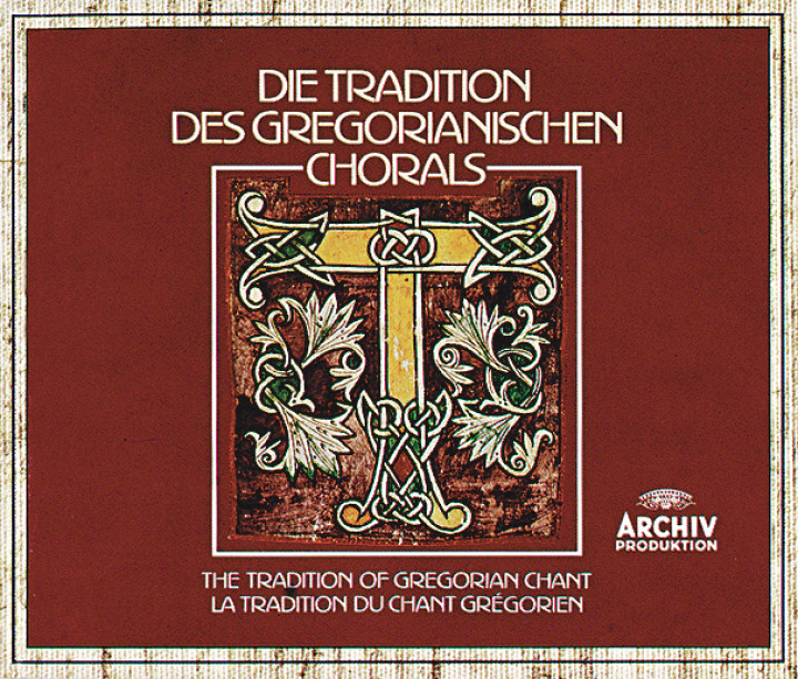 The Tradition of Gregorian Chant Cover