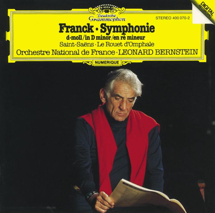 Bernstein - Franck: Symphony in D minor / Saint-Saens: Le Rouet d'Omphale Cover