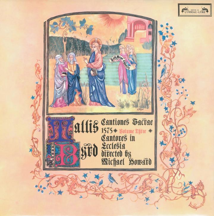 Howard - Tallis / Byrd: Cantiones Sacrae 1575 Cover