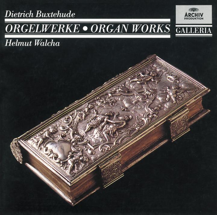 Helmut Walcha - Buxtehude: Organ Works BuxWV 137, 139-142, 145-146, 149,159-160, Passacaglia BuxWV 161 Cover