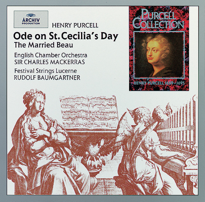 Mackerras - Purcell: Ode on St. Cecilia's Day; The Married Beau Cover