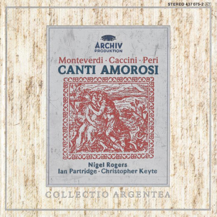 Nigel Rogers - Canti Amorosi Cover