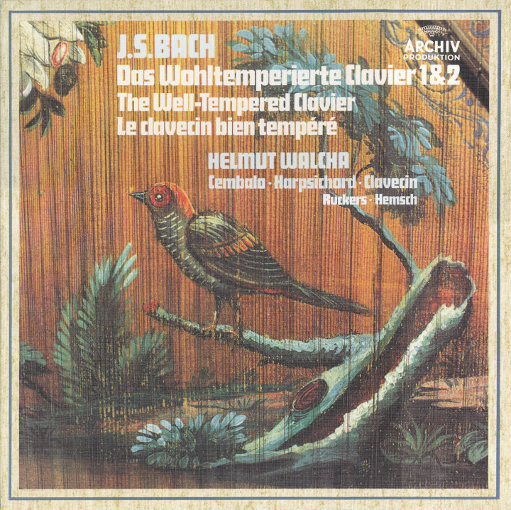 Helmut Walcha - Bach: The Well-tempered Clavier, Book One & Two, BWV 846-893 Cover