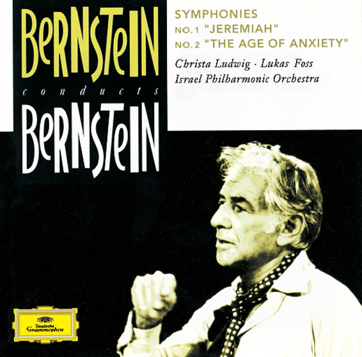 """Bernstein: Symphonies Nos.1 """"Jeremiah"""" & 2 """"The Age of Anxiety"""" Cover"""