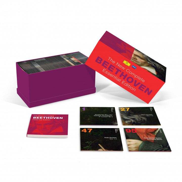 Beethoven - The New Complete Essential Edition Packshot