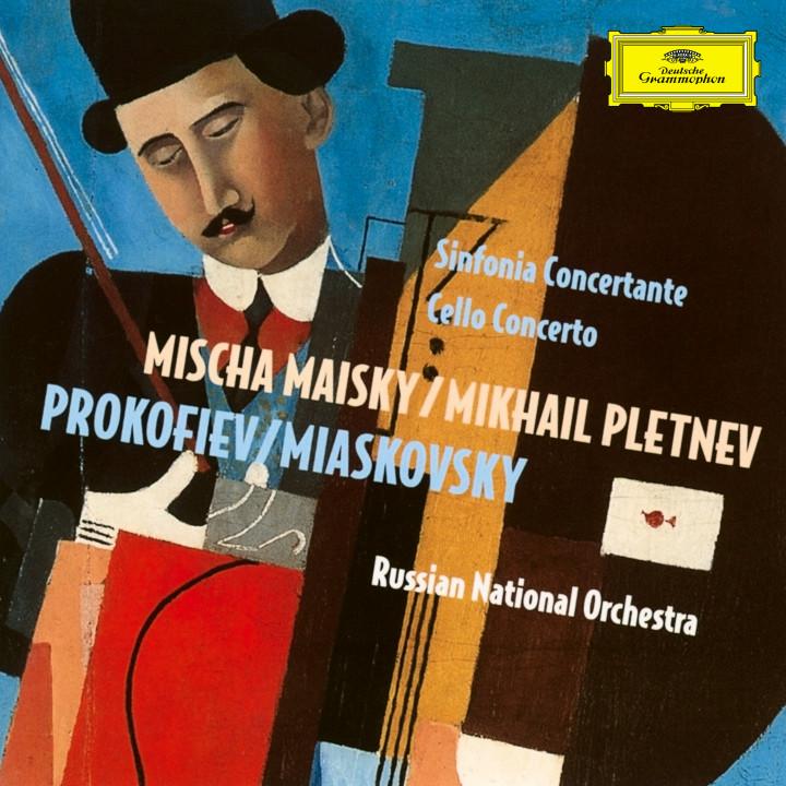 Mischa Maisky - Prokofiev: Sinfonia Concertante; Miaskovsky: Cello Concerto Cover