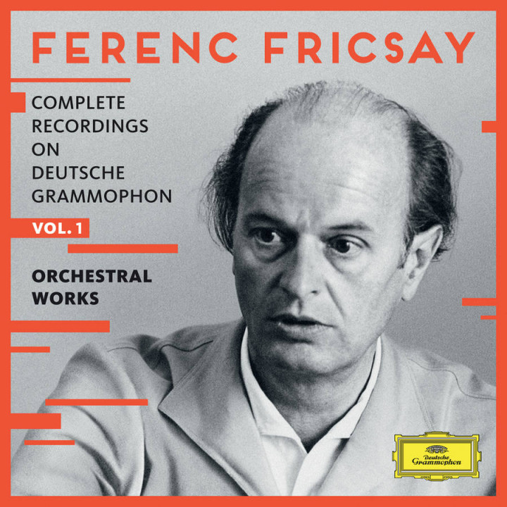 Fricsay - Complete Recordings on DG Vol 1 - Orchestral Works Cover