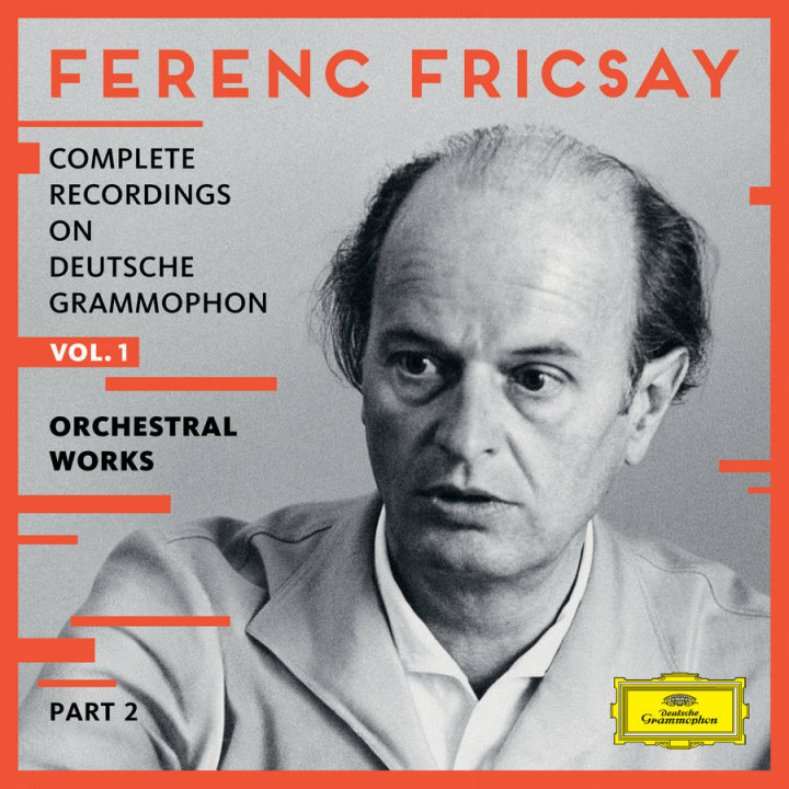 Fricsay - Complete Recordings on DG Vol 1 - Orchestral Works - Part 2 Cover