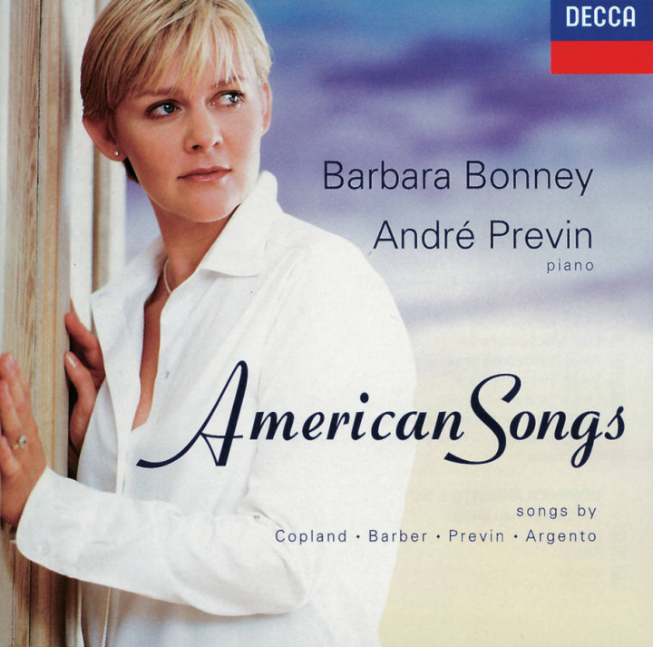 Barbara Bonney, André Previn - American Songs Cover