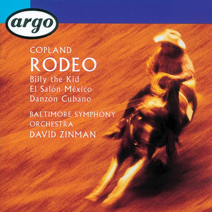 Copland: Rodeo/El Salón Mexico/Billy the Kid/Danzón Cubano Cover