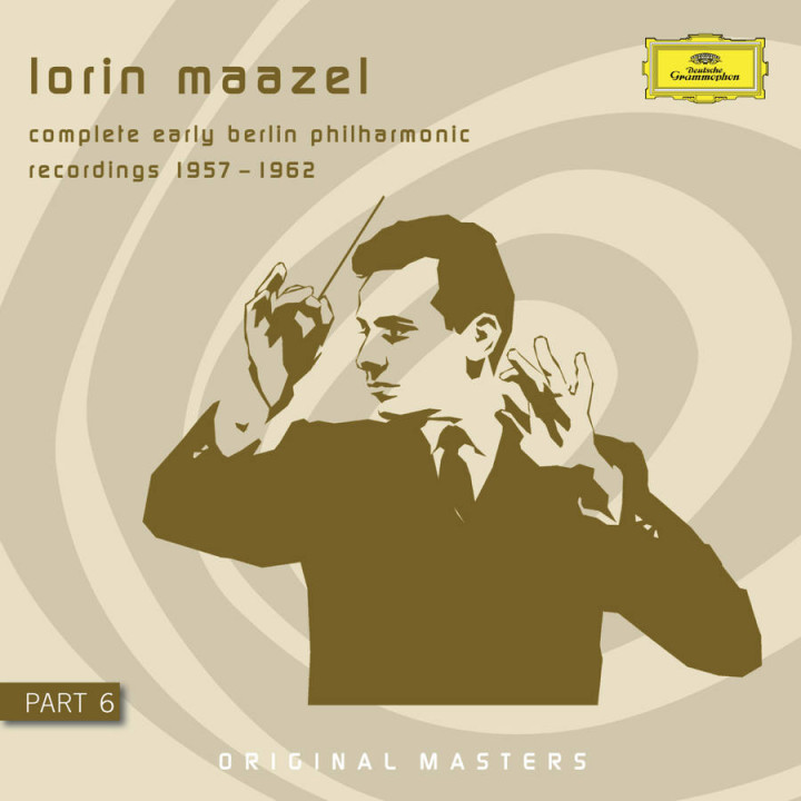 Lorin Maazel - Complete early Berlin philharmonic Recordings - Part 6 Cover