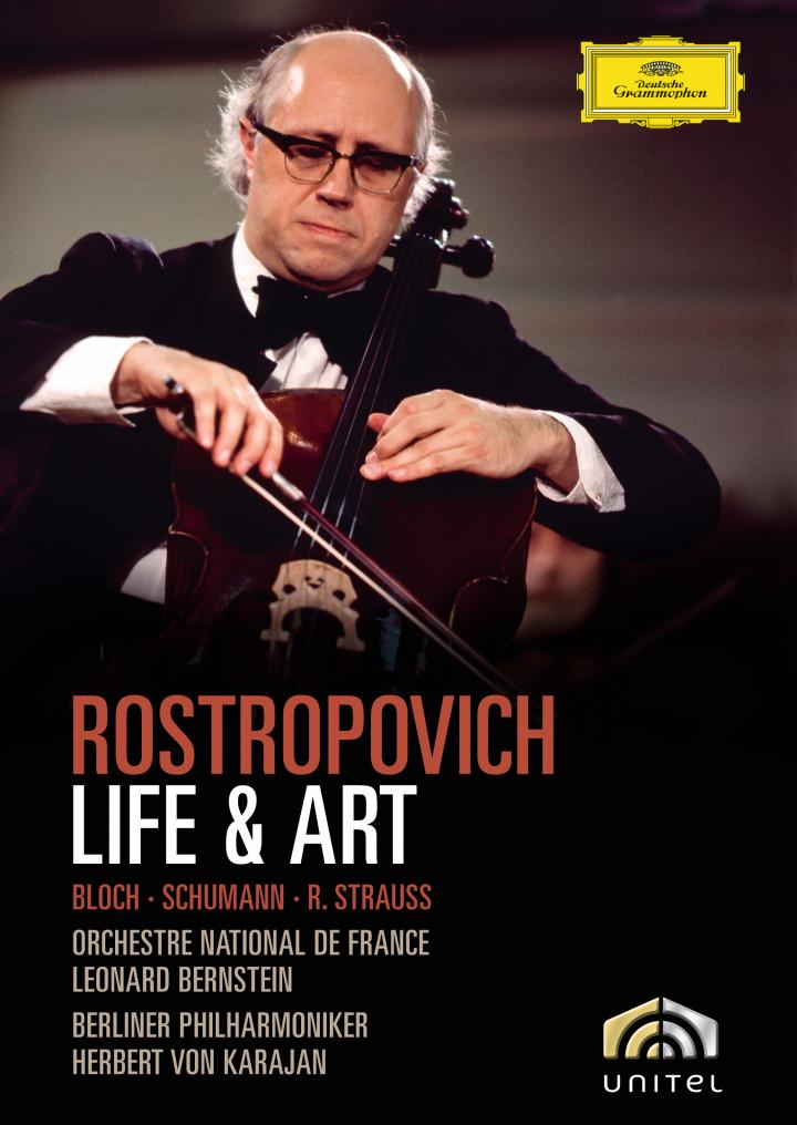 Rostropovich - Life and Art Cover