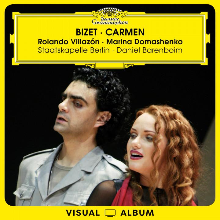 Villazón - Bizet: Carmen Visual Album Cover
