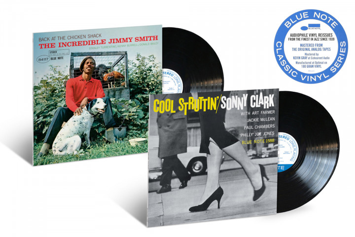 Blue Note Classic Vinyl: Jimmy Smith - Back At The Chicken Shack / Sonny Rollins - Cool Struttin'