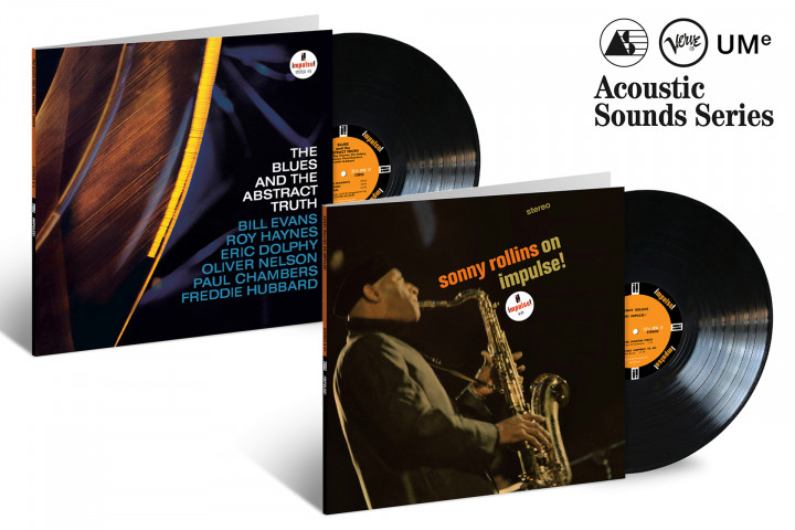 """JazzEcho-Plattenteller: Oliver Nelson """"The Blues and Abstract Truth"""" / Sonny Rollins """"On Impulse!"""" (Verve Acoustic Sounds Series)"""