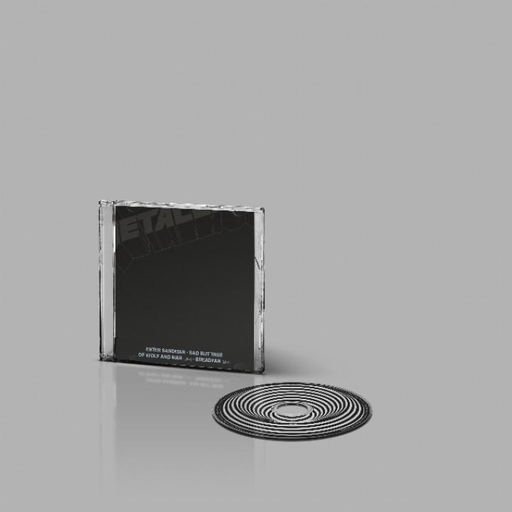 Enter Sandman CD Packshot