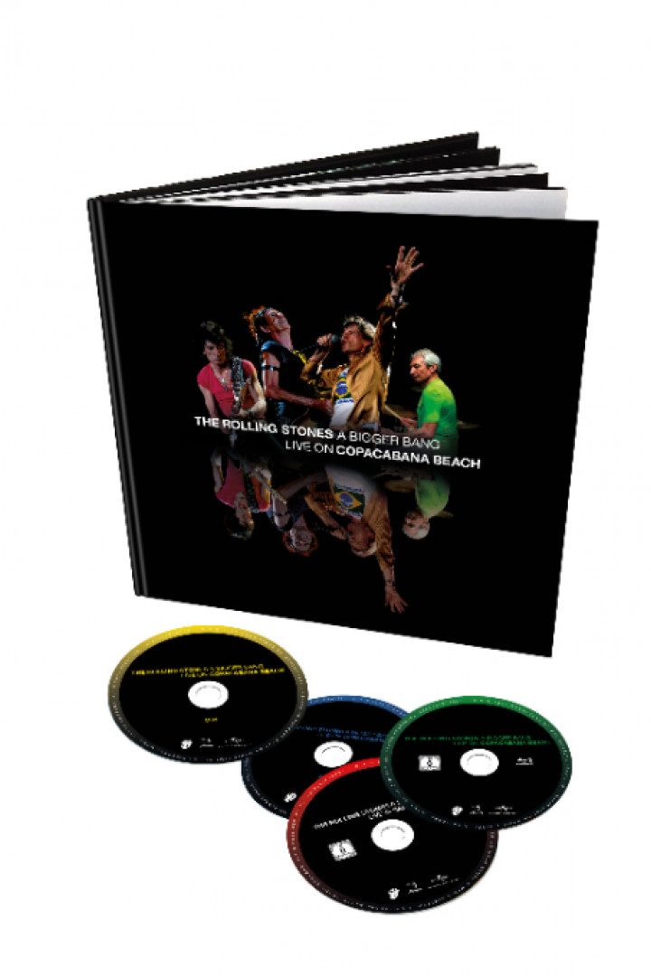 The Rolling Stones BluRay Packshot 4 Discs