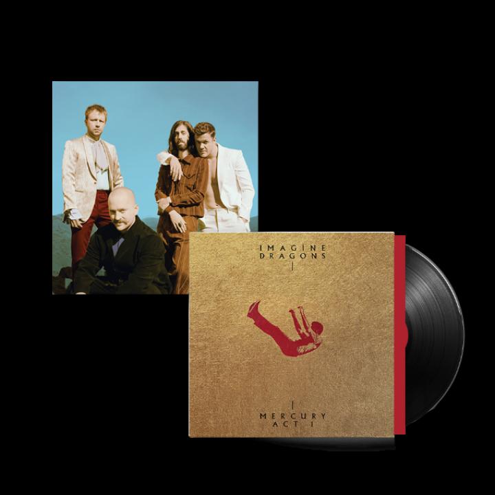 Imagine Dragons International Retail exclusive Vinyl + Poster