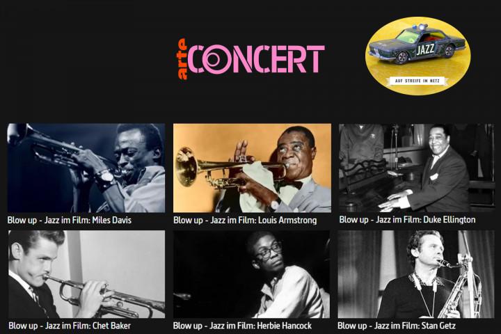 """Auf Streife Im Netz: Arte Concert """"Blow Up - Jazz Im Film"""""""
