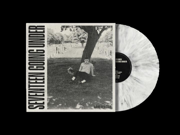 Seventeen Going Under Ltd Edition White Marble Vinyl