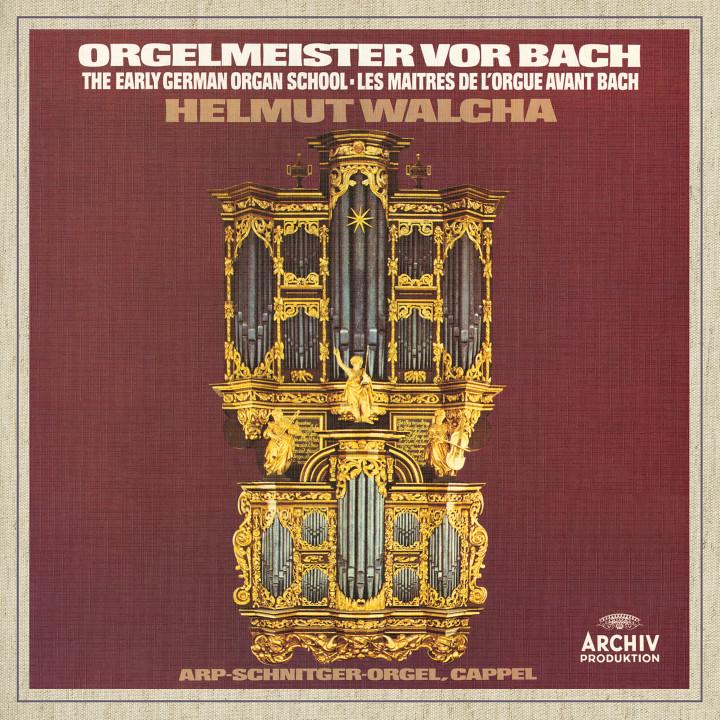 Helmut Walcha - Organ Masters Before Bach Cover