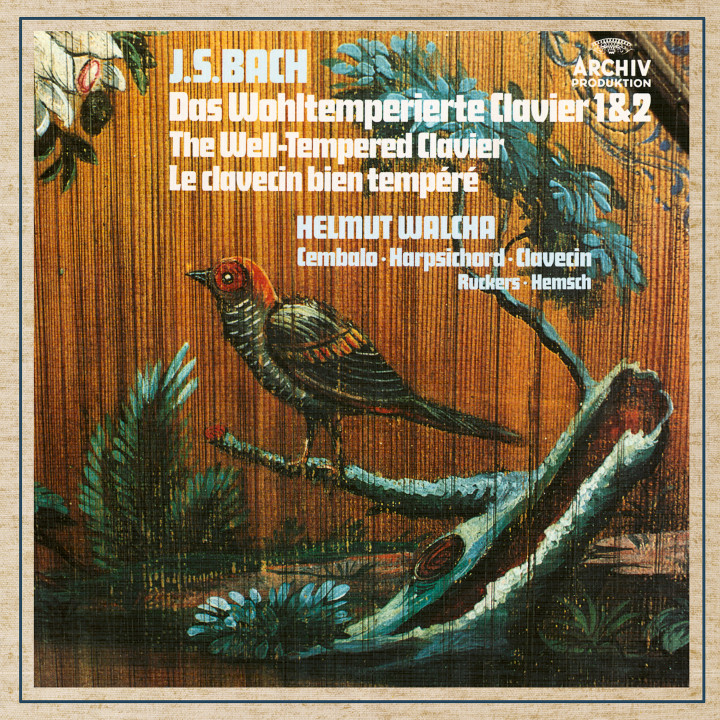 Helmut Walcha - Bach, J.S.: The Well-Tempered Clavier BWV 846-893 eAlbum Cover