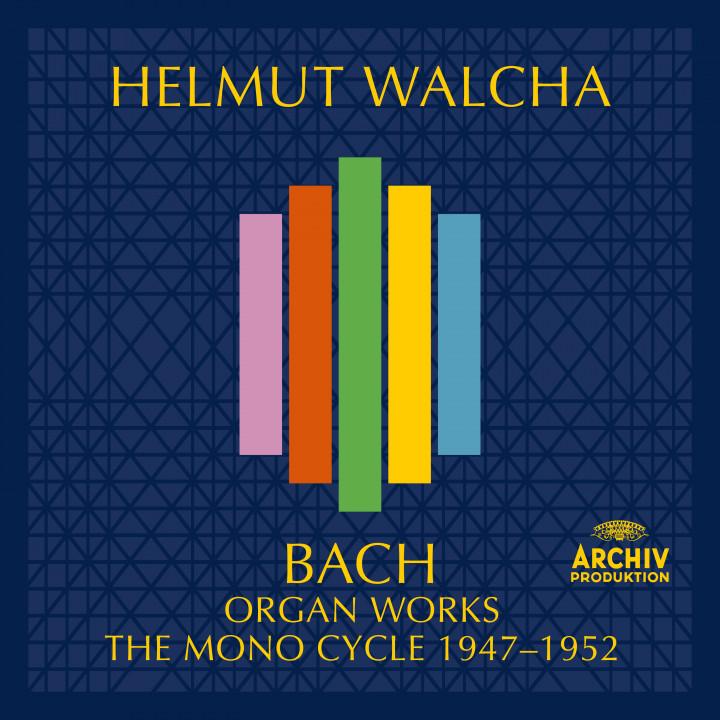 Helmut Walcha - Bach, J.S.: Organ Works - The Mono Cycle 1947 - 1952 eAlbum Cover