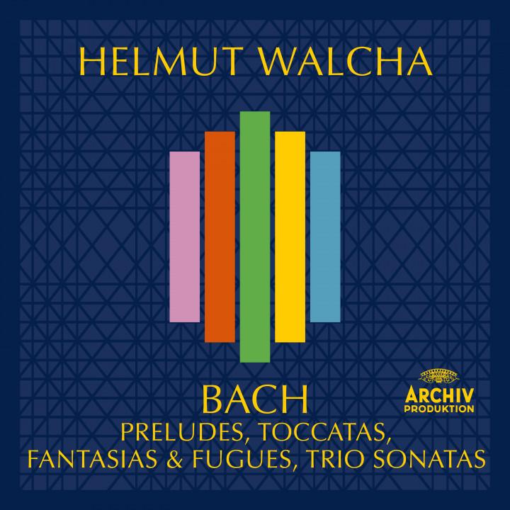 Helmut Walcha - Bach, J.S.: Preludes, Toccatas, Fantasies & Fugues, Trio Sonatas Cover