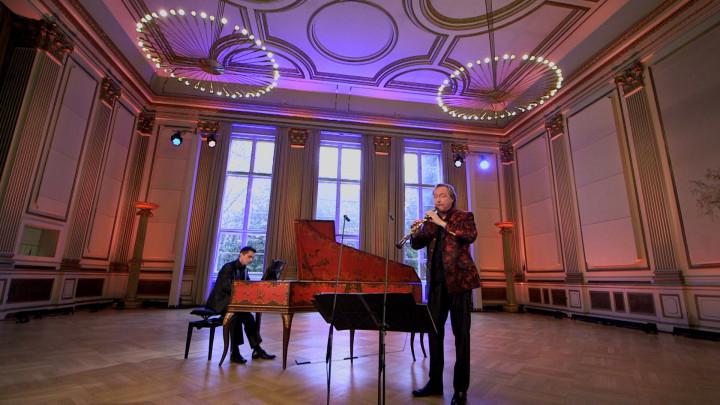 Albrecht Mayer & Vital Julian Frey – Organ Sonata No.3 in D minor, BWV 527: I. Andante