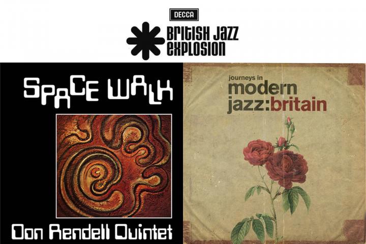 """Don Rendell Quintett - """"Space Walk"""" / """"Journeys In Modern Jazz: Great Britain"""" (British Jazz Explosion)"""
