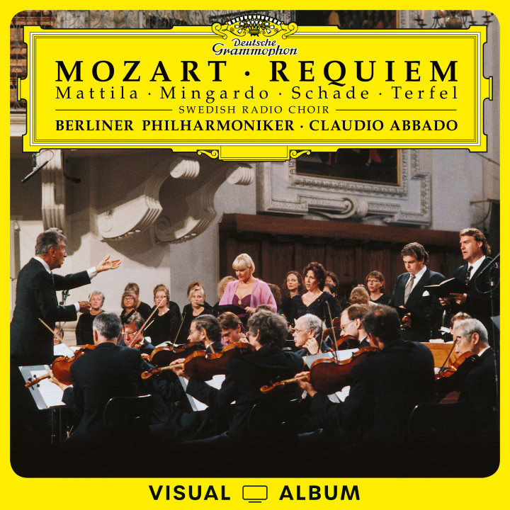 Abbado - Mozart: Requiem - EuroArts Visual Album Cover