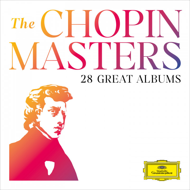 The Chopin Masters - 28 Great Albums Cover