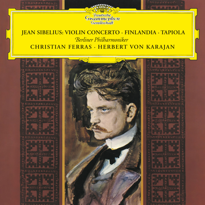 Karajan - Sibelius: Violin Concerto; Finlandia; Tapiola eAlbum Cover
