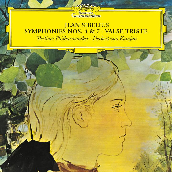 Karajan - Sibelius: Symphonies Nos. 4 & 7; Valse triste eAlbum Cover