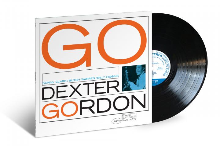 JazzEcho-Plattenteller: Dexter Gordon - Go! (Blue Note Classic Vinyl)