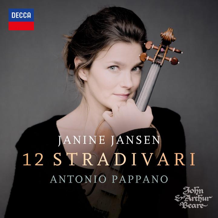 Janine Jansen - 12 Stradivari Cover