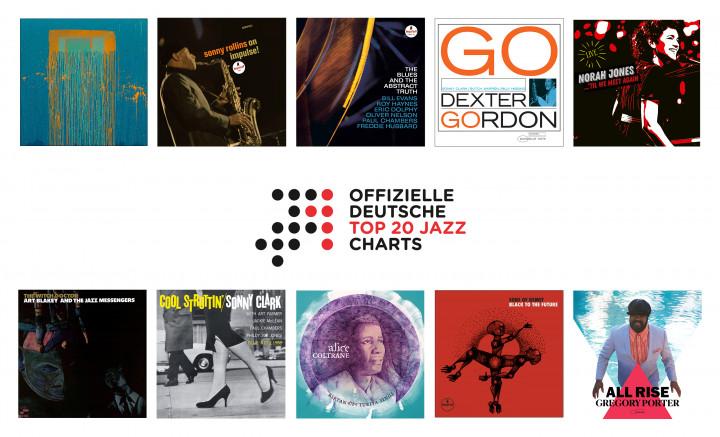 Jazz-Charts Juli 2021
