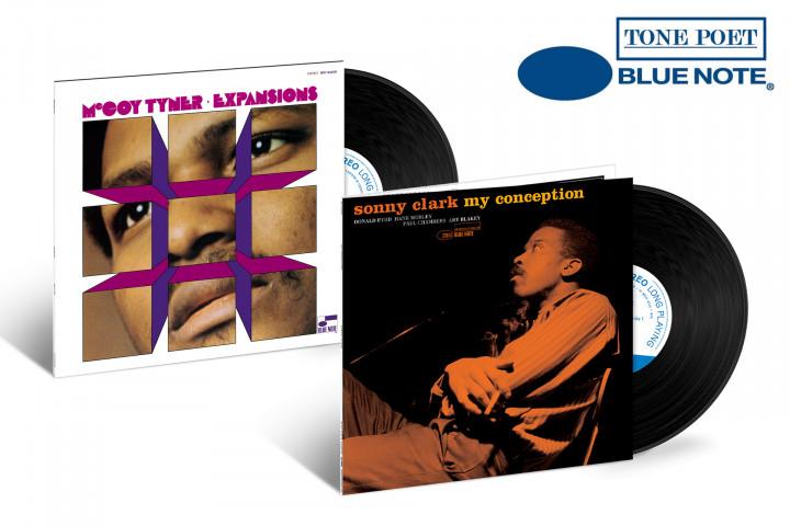 "JazzEcho-Plattenteller: McCoy Tyner ""Expansions"" /Sonny Clark ""My Conception"" (Tone Poet Vinyl)"