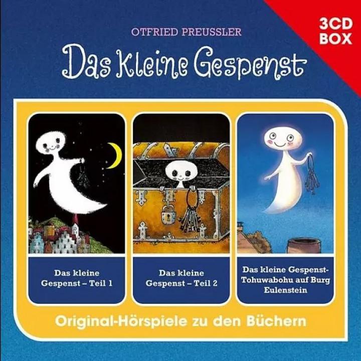 Das kleine Gespenst - 3-CD Hörspielbox - Cover