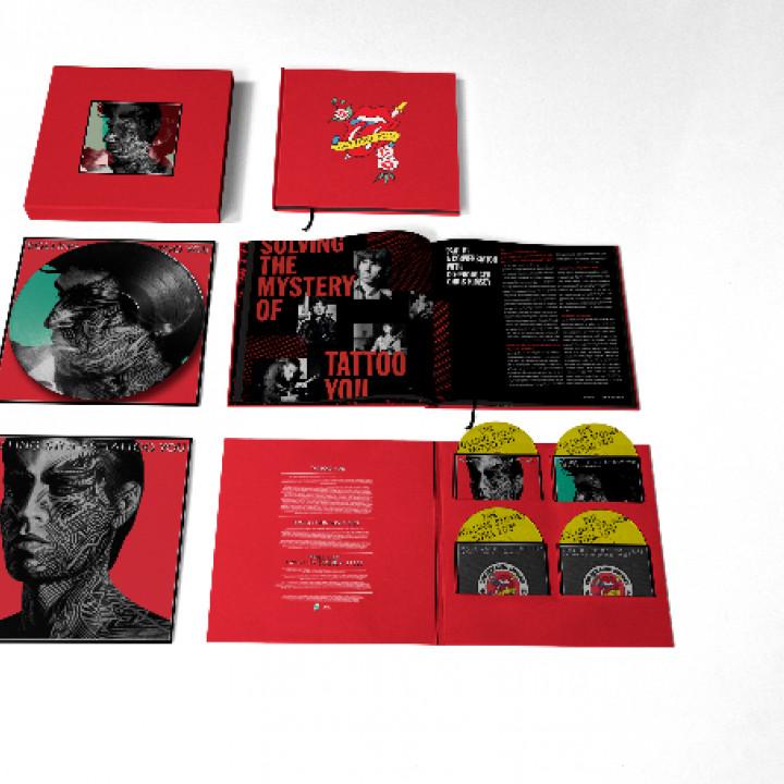 Tattoo You (40th Anniversary) 4 LP Boxset