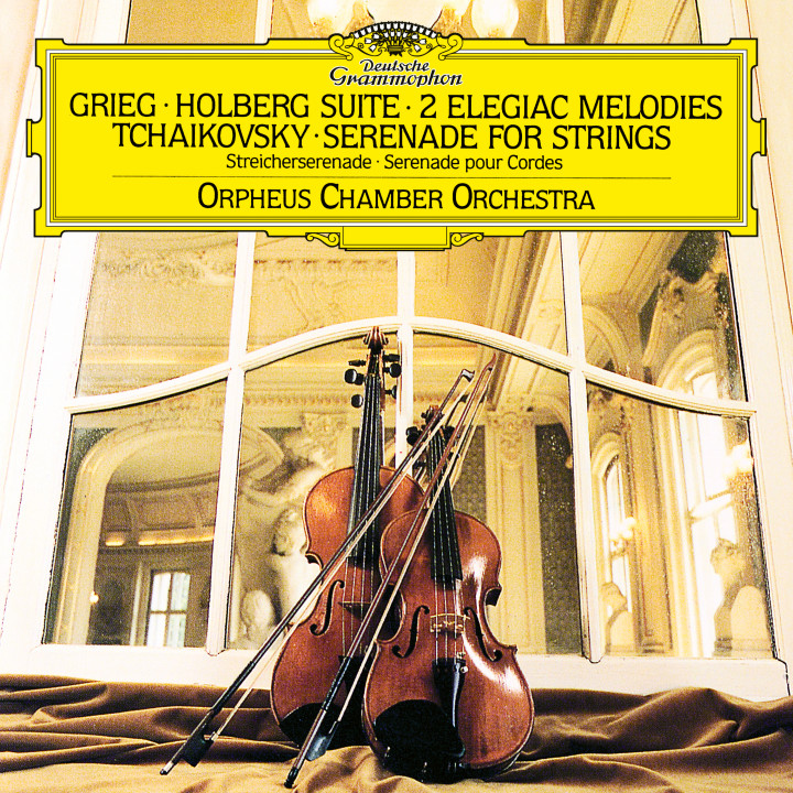 Orpheus Chamber Orchestra - Grieg: Holberg Suite, Two Elegiac Melodies; Tchaikovsky: Serenade for Strings eAlbum Cover