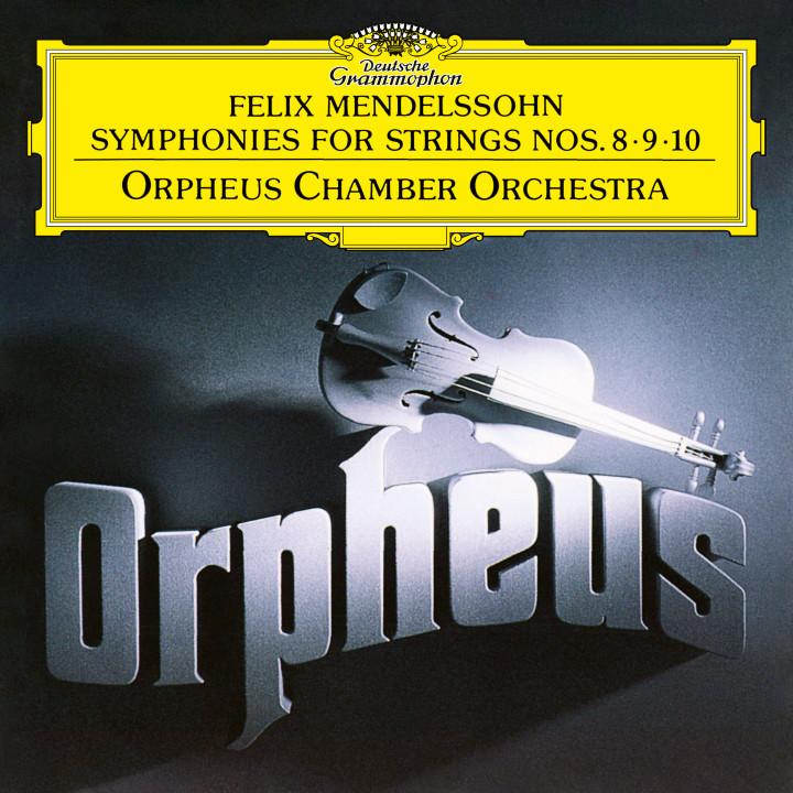 Orpheus Chamber Orchestra Mendelssohn: Symphonies For Strings Nos. 8 - 10 eAlbum Cover