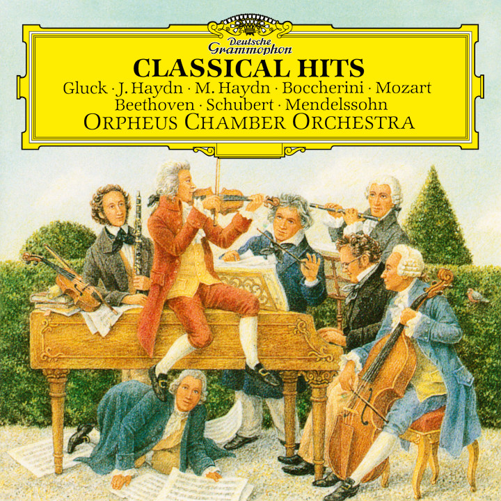 Orpheus Chamber Orchestra - Classical Hits eAlbum Cover