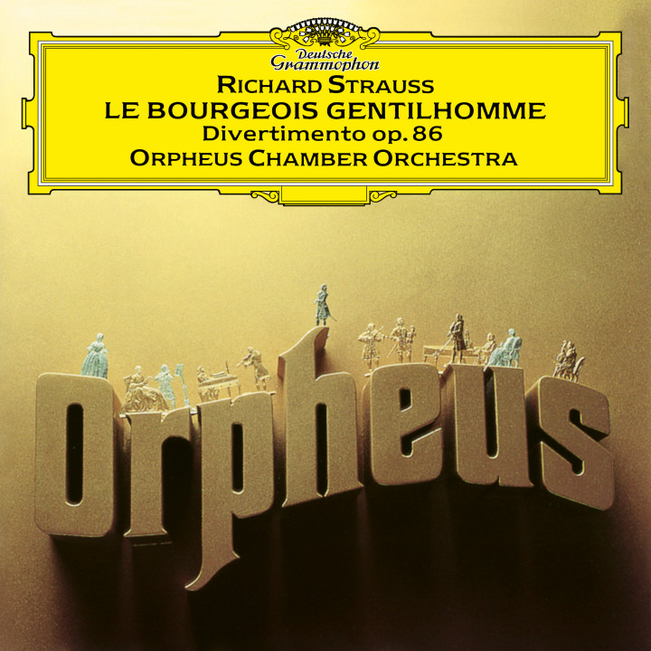Orpheus Chamber Orchestra - R. Strauss: Divertimento, Op. 86; Le bourgeois gentilhomme - Orchestral Suite, Op. 60 eAlbum Cover